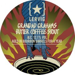LERVIG Barrel Aged - Granddad Grahams Butter Coffee, 0.25 л