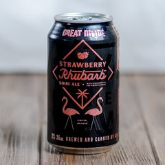 Great Divide Brewing Company Strawberry Rhubarb
