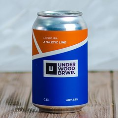 Underwood Brewery Athletic Line: Micro IPA