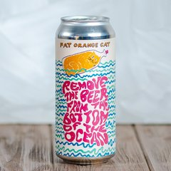 Fat Orange Cat Brew Co. Remove the Beer From the Bottom of the Ocean