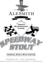 AleSmith Brewing Company Speedway Stout w/ Jamaica Blue Mountain Coffee, 0.5 л