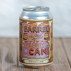 Amundsen Bryggeri Barrel Aged Dessert In A Can - Rocky Road Ice Cream