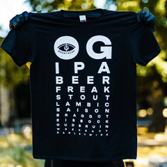 Фірмова футболка BeerFreak Eye Test, S